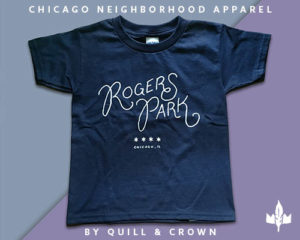 Quill and Crown Chicago Tshirts