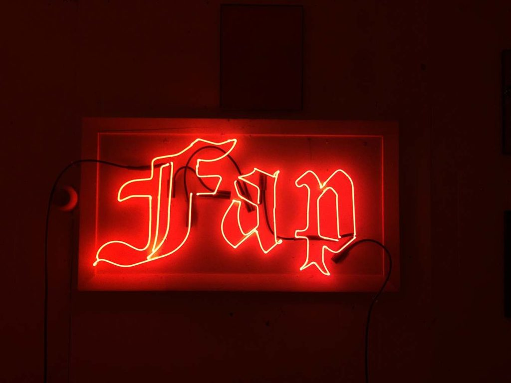 Neon Signs, Breasticles, and Sexual Art: A Conversation with